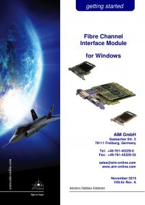 Fibre Channel Windows Getting Started