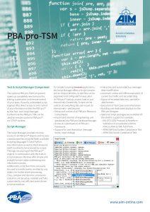 PBA.pro-TSM
