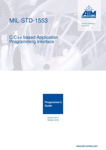MIL-STD-1553 Programmers Guide