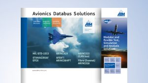 AIM Overview Trade Shows - Avionics Databus Solutions