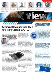 AIM VIEW 2011, Vol. 18