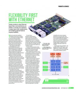 Flexibility first with Ethernet