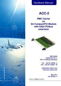 ACC-2 Hardware Manual