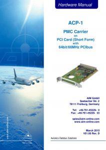 ACP-1 Hardware Manual