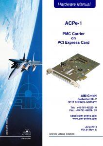 ACPe-1 Hardware Manual