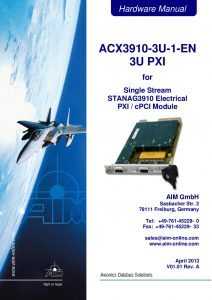 ACX3910-EN Hardware Manual