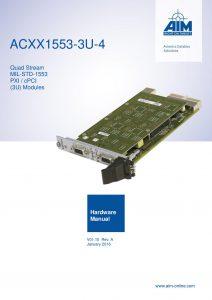 ACXX1553-4 Hardware Manual