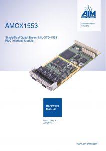 AMCX1553 Hardware Manual