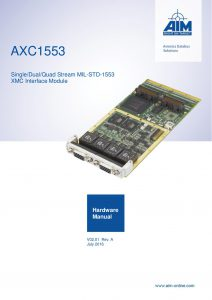 AXC1553 Hardware Manual
