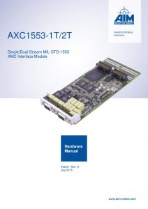 AXC1553-nT Hardware Manual