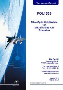 FOL1553 Hardware Manual