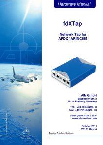 fdXTap Hardware Manual