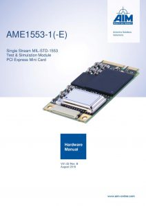 AME1553 Hardware Manual