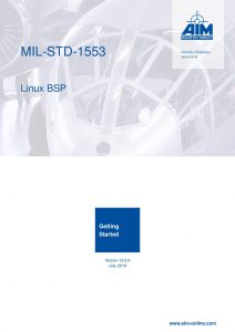 MIL-STD-1553 Linux Getting Started