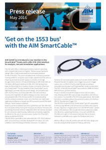 Get on the 1553 bus with the AIM SmartCable