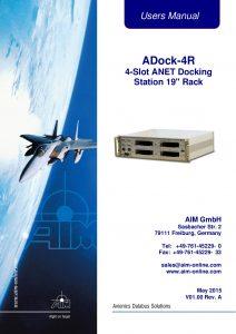 ADock-4R Users Manual