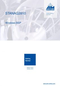 STANAG3910 Windows Getting Started