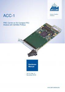 ACC-1 Hardware Manual