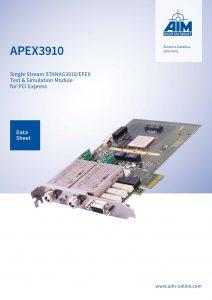 Cover Image of APEX3910 - AIM GmbH