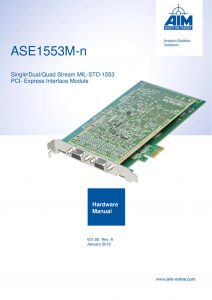 ASE1553M Hardware Manual