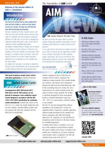 AIM VIEW 2013, Vol. 22