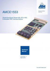AMCE1553 Hardware Manual