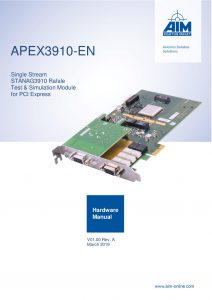 APEX3910-EN Hardware Manual