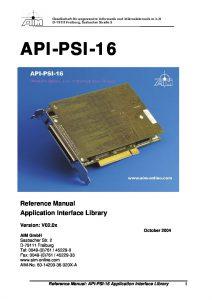 Panavia Reference Manual