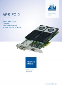 APS-FC Hardware Manual