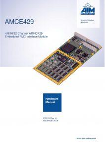 AMCE429 Hardware Manual