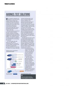 Avionics Test Solutions