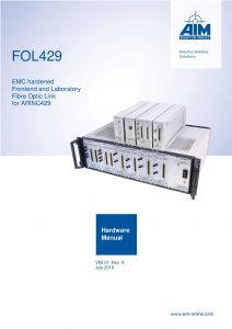 FOL429 Hardware Manual