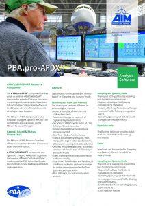 PBA.pro-AFDX