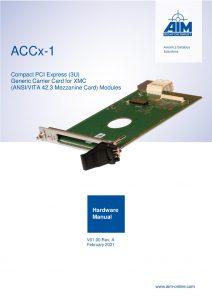 ACCx-1 Hardware Manual