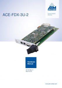ACE-FDX-3U-2 Hardware Manual