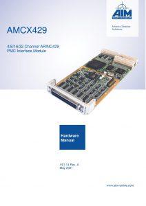 AMCX429 Hardware Manual