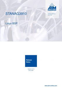 STANAG3910 Linux Release Notes