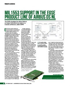 AIM: MIL-STD-1533 Support for Airbus DS NL